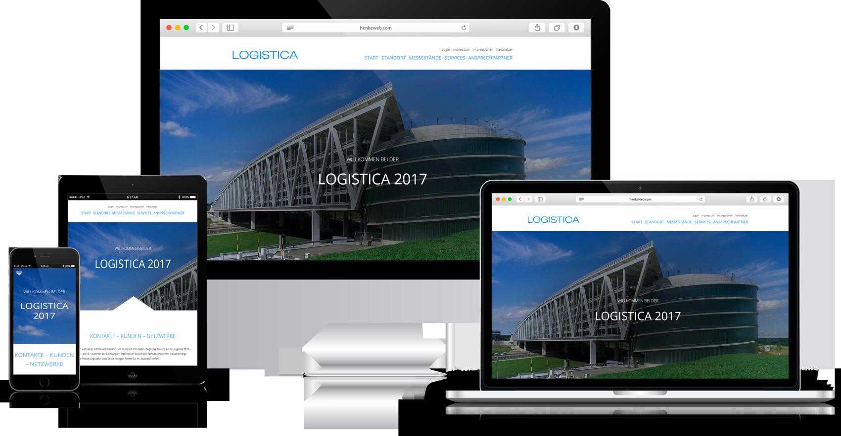 Responsive Website Logistica